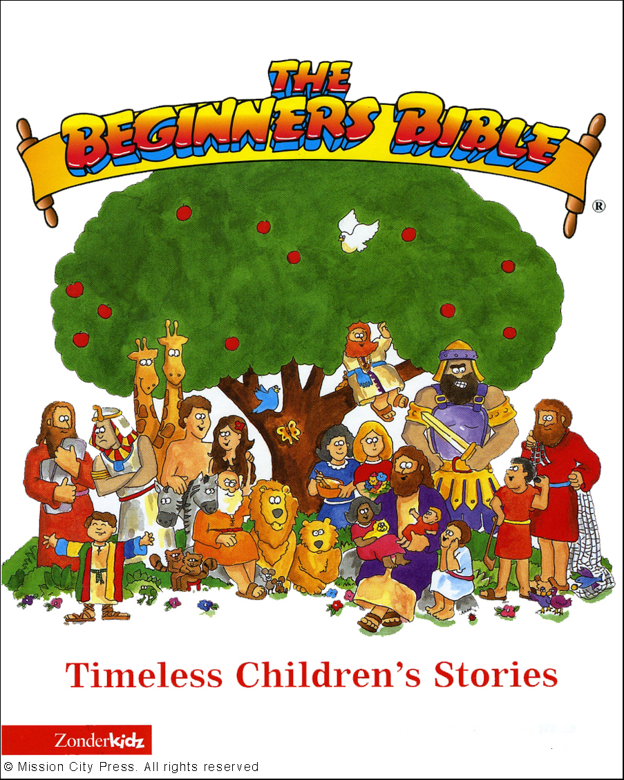 00 Front Cover The Original Beginners Bible By Karyn Henley Illustrated Dennas Davis Was Published